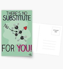 No substitute for you! Postcards