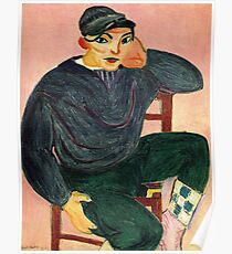 The Young Sailor II- Henri Matisse  Poster