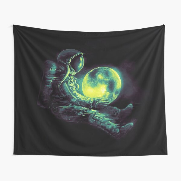 Moon Play Tapestry