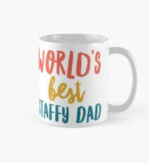 World's best staffy dad  Mug