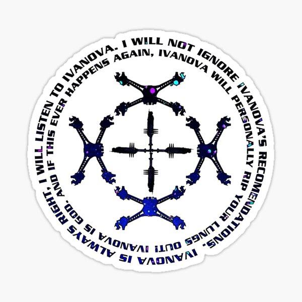 Babylon 5 Mandala Sticker