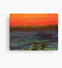 Landscape of Fire and Water Canvas Print