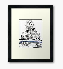 From The Empire Framed Print