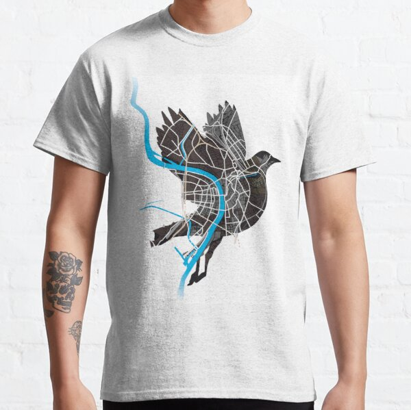 Basel Citymap Artwork | BIRDY [baslerdybli] Classic T-Shirt