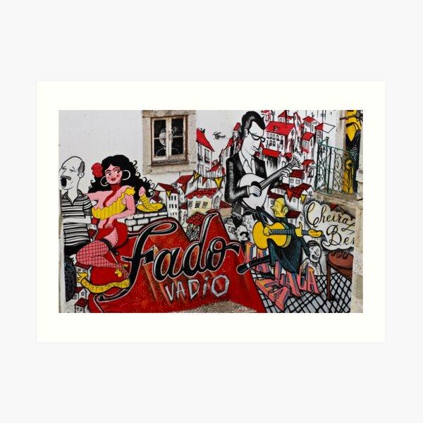 Fado Vadio Art Print