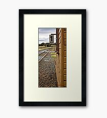 Yass Train Station (2) Framed Print