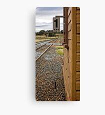 Yass Train Station (2) Canvas Print