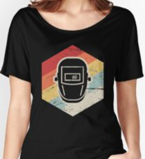 Retro 70s Welder Icon Women's Relaxed Fit T-Shirt
