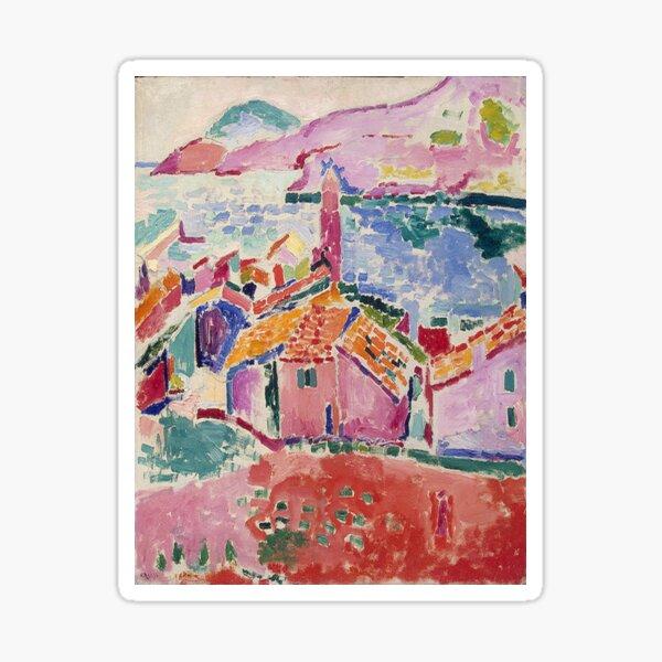 Les toits de Collioure- Henri Matisse  Sticker
