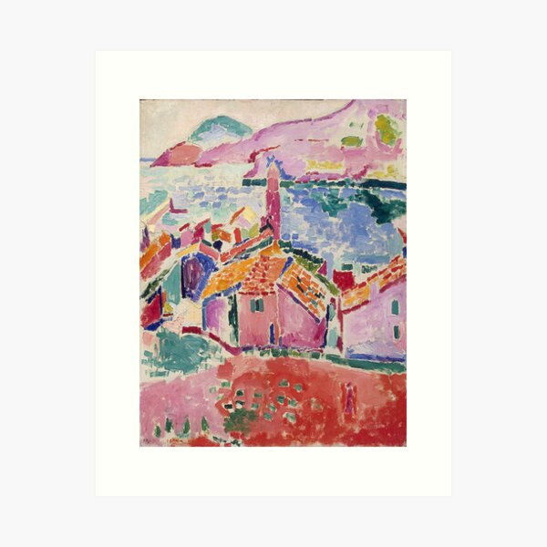 Les toits de Collioure- Henri Matisse  Art Print