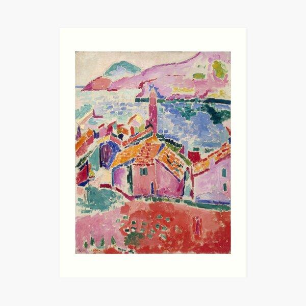 Les toits de Collioure- Henri Matisse Lámina artística