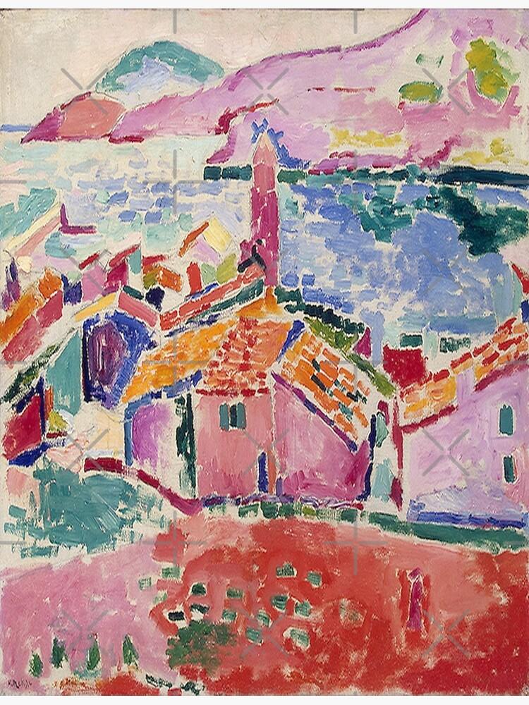 Les toits de Collioure- Henri Matisse  by LexBauer