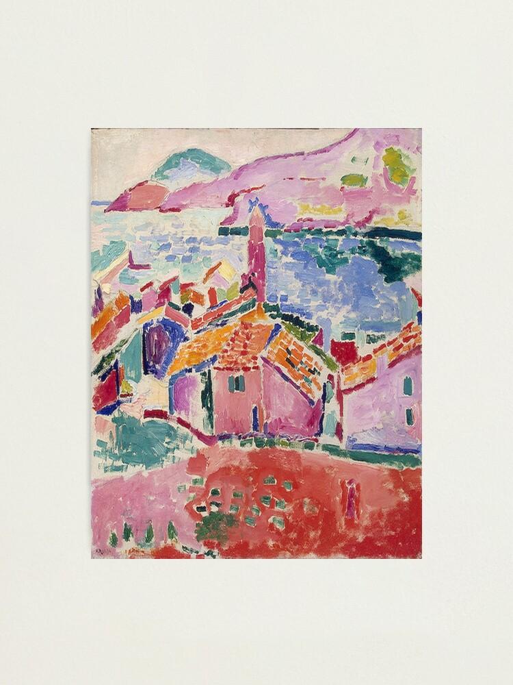 Alternate view of Les toits de Collioure- Henri Matisse  Photographic Print