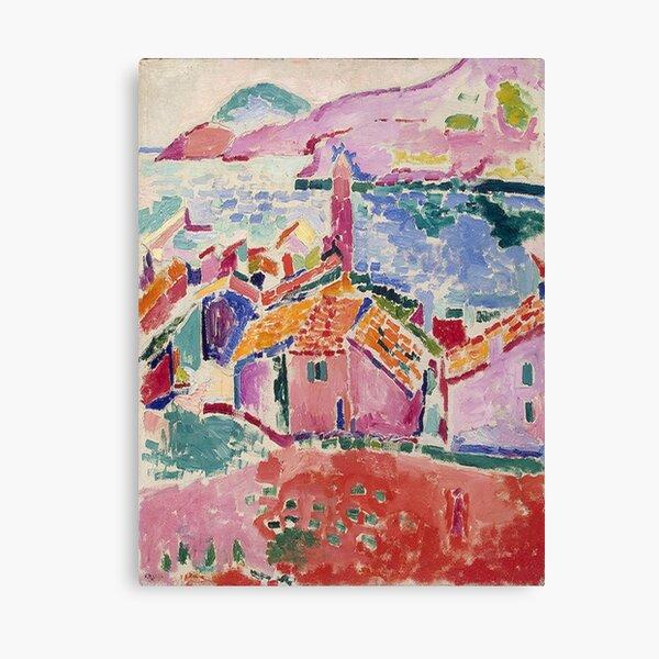 Les toits de Collioure- Henri Matisse  Canvas Print