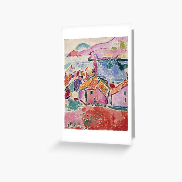 Les toits de Collioure- Henri Matisse  Greeting Card