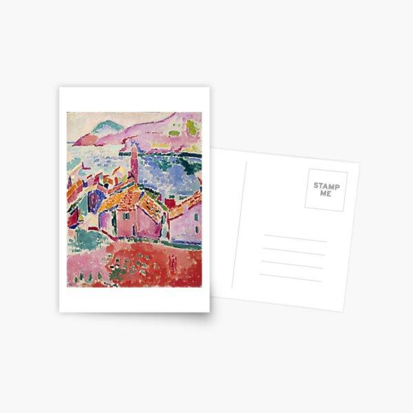 Les toits de Collioure- Henri Matisse  Postcard