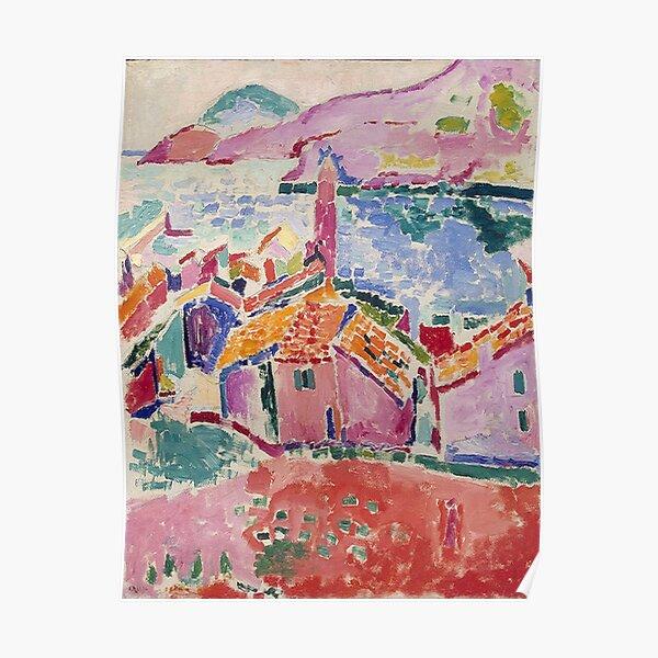 Les toits de Collioure- Henri Matisse  Poster