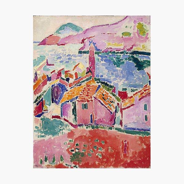 Les toits de Collioure- Henri Matisse  Photographic Print