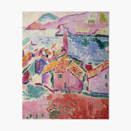 Les toits de Collioure- Henri Matisse  Art Board Print