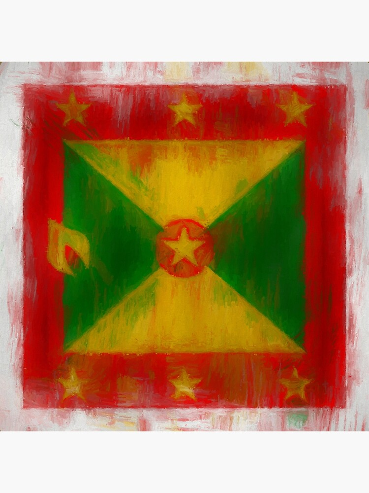 Grenada Flag Reworked No. 2, Series 2 by 8th-and-f