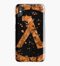 Half Life Splatter iPhone Case/Skin