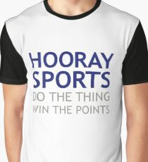 Hooray Sports! Graphic T-Shirt