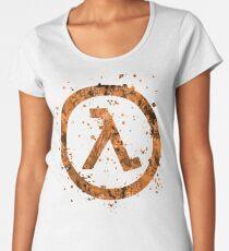 Half Life Splatter Women's Premium T-Shirt