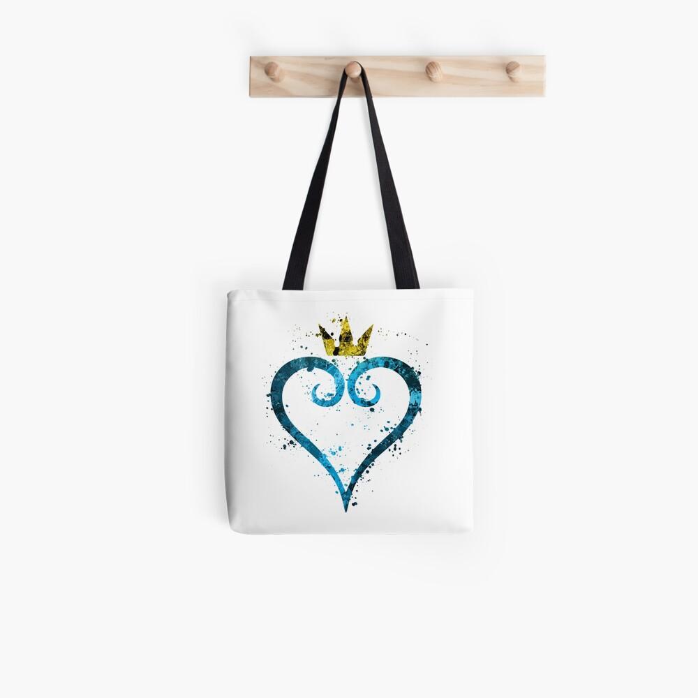Kingdom Hearts Splatter Tote Bag