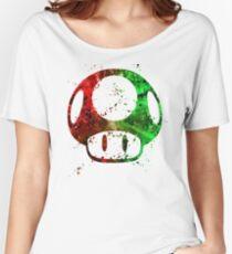 Super Mario Splatter Women's Relaxed Fit T-Shirt