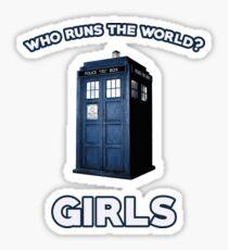 Who runs the world? Girls. Sticker