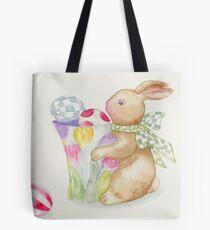 Easter Bunny Egg Sentries Tote Bag