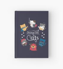 Cuaderno de tapa dura Dungeons and Cats