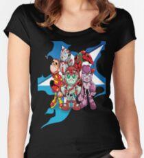 "Robobot ""Off to Mars"" / Robobot Team  Women's Fitted Scoop T-Shirt"