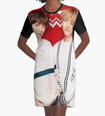 VKook - Weihnachten T-Shirt Kleid
