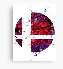 Super Smash Splatter Canvas Print