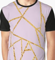 Geometric Gold  Graphic T-Shirt