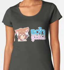Boys Make The Best Girls Women's Premium T-Shirt