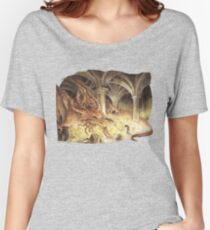 Bilbo and Smaug the Dragon Women's Relaxed Fit T-Shirt