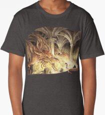 Bilbo and Smaug the Dragon Long T-Shirt