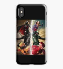 "Crisis On Earth-X ""Heroes vs. Villains"" iPhone Case/Skin"