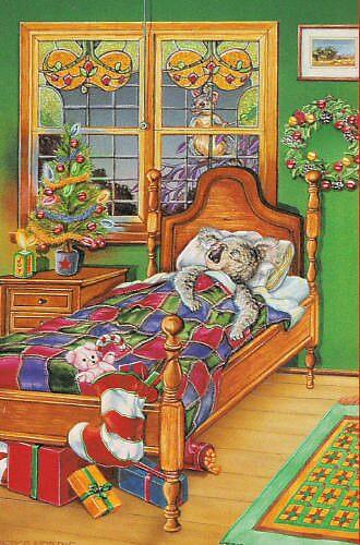 Christmas Sleeping by Pete Morris