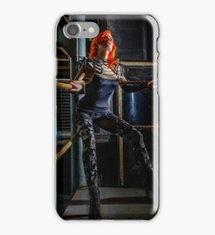 Ulorin Vex in Rachael Weiss: On the Ropes  iPhone Case/Skin