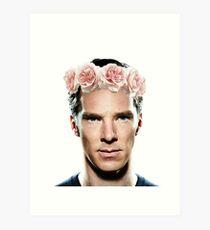 Benedict Flowerbatch Art Print