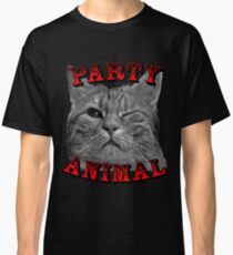 Party Animal Cat Classic T-Shirt