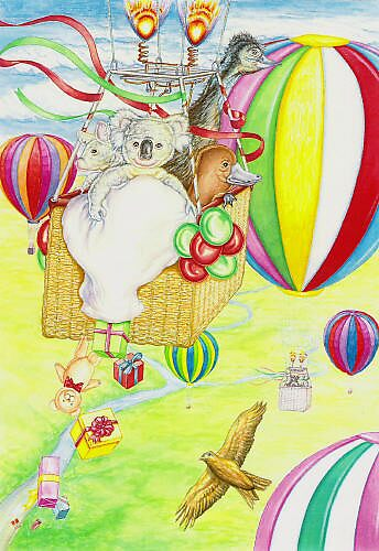 Hot Air Balloons by Pete Morris
