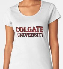 Colgate University (2) Women's Premium T-Shirt