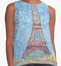 Impressionist Eiffel Tower Contrast Tank