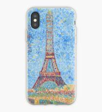 Impressionist Eiffel Tower iPhone Case