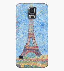 Impressionist Eiffel Tower Case/Skin for Samsung Galaxy