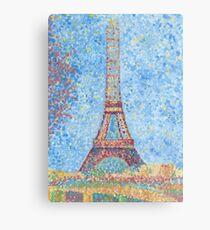 Impressionist Eiffel Tower Metal Print
